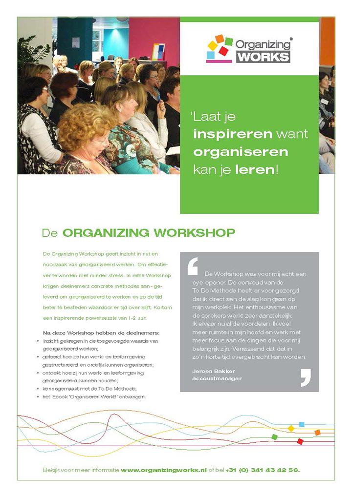 Organizing Workshop