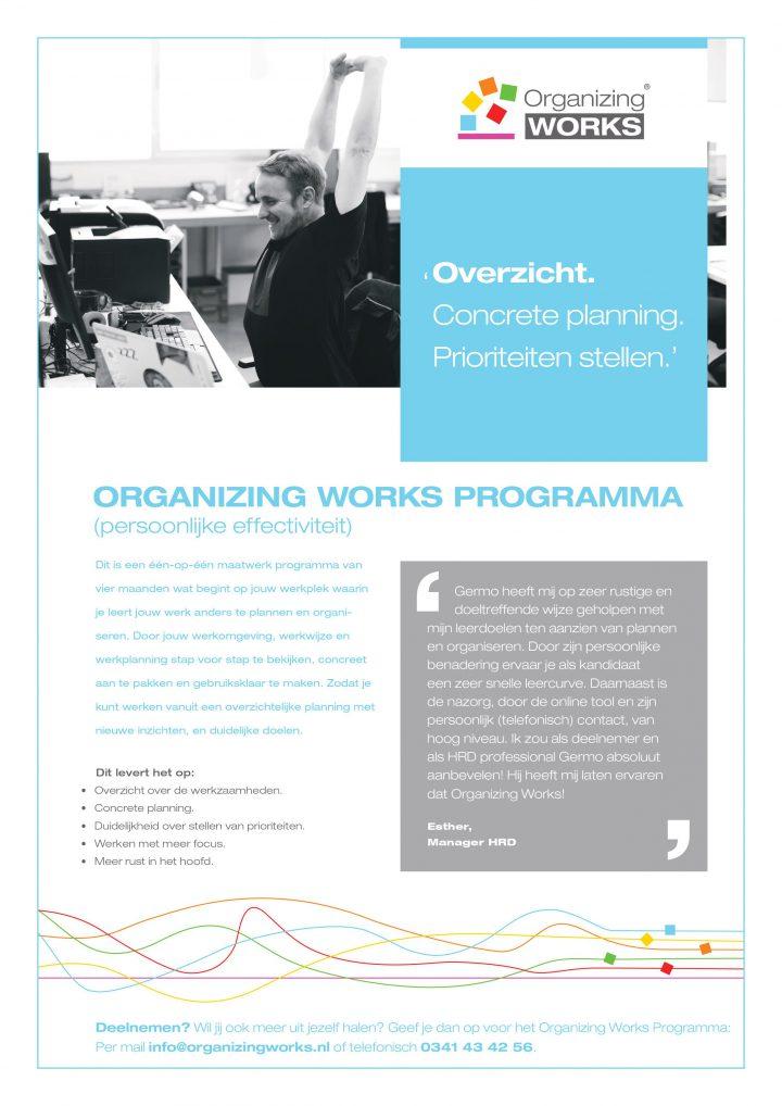 Organizing Works Programma